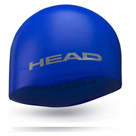 Head Silicone Moulded Gorra, azul